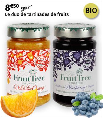 Duo de tartinades de fruits Fruit Tree