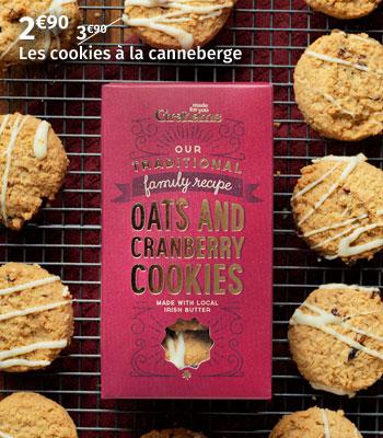 Cookies à la canneberge Grahams