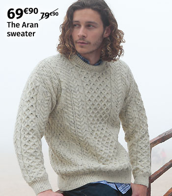 Aran Woollen Mills Irish Sweater