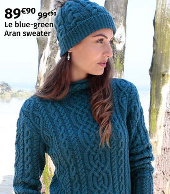 Inis Crafts Aran Sweater