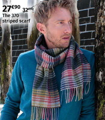 John Hanly Striped Scarf