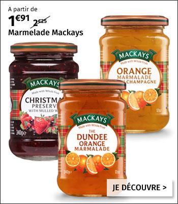 Marmelades & confitures Mackays