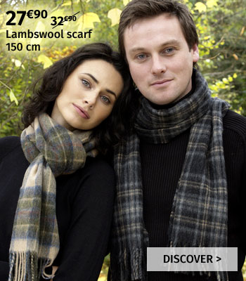 John Hanly lambswool scarf