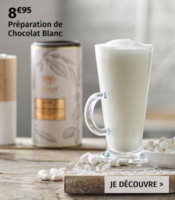 Préparation de Chocolat chaud blanc Whittard