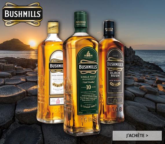 Irish whiskey Bushmills