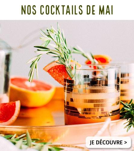 Nos cocktails de mai