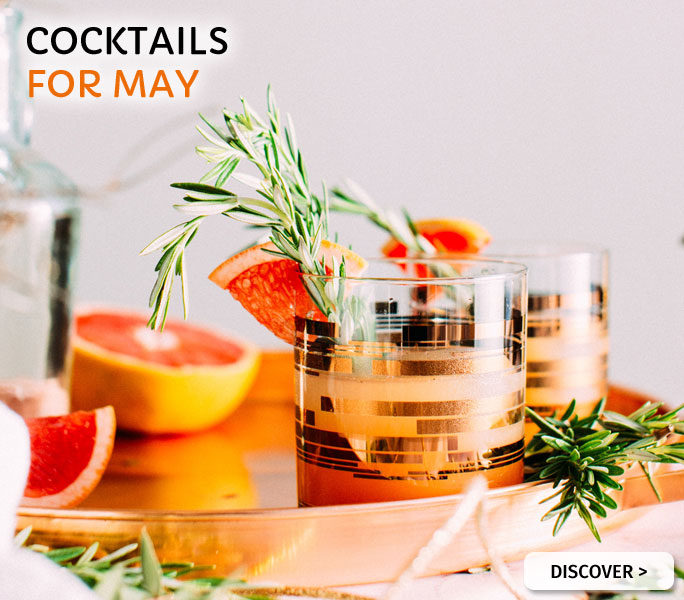 Cocktails for May