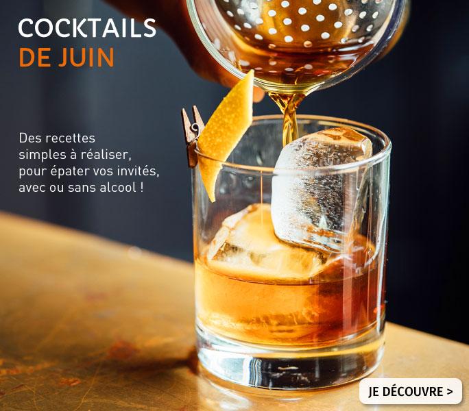 Cocktails pour juin