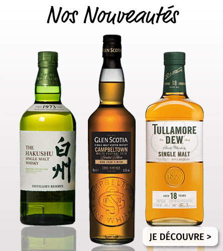 Nos Nouveautés Whisky