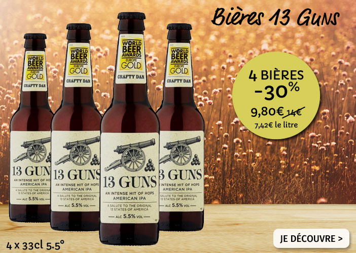Bières 13 Guns