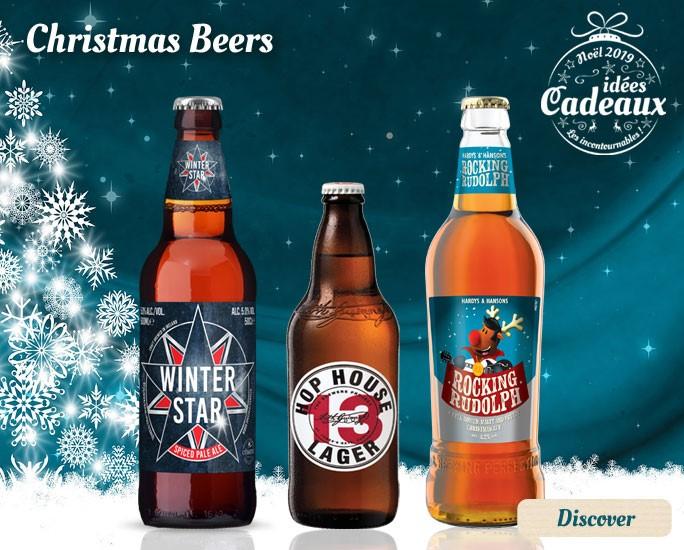 Christmas Beers Selection