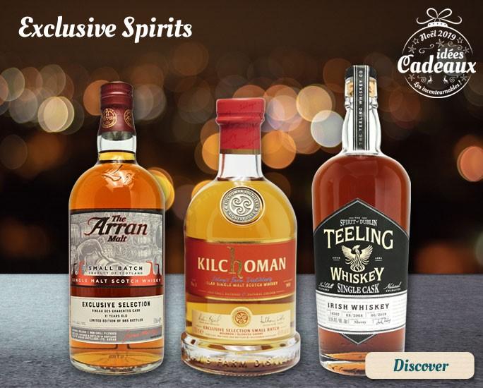 Exclusive bottlings