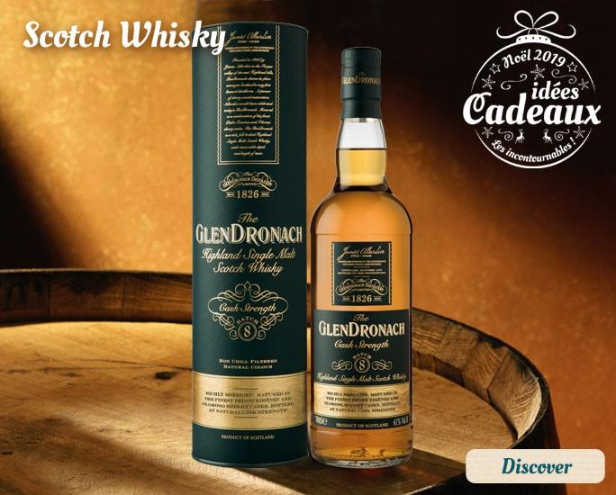 Scotch whisky selection