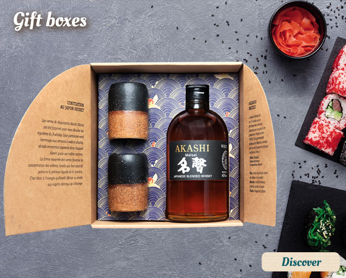 Whisky boxes