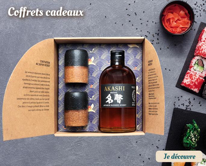 Coffrets whisky
