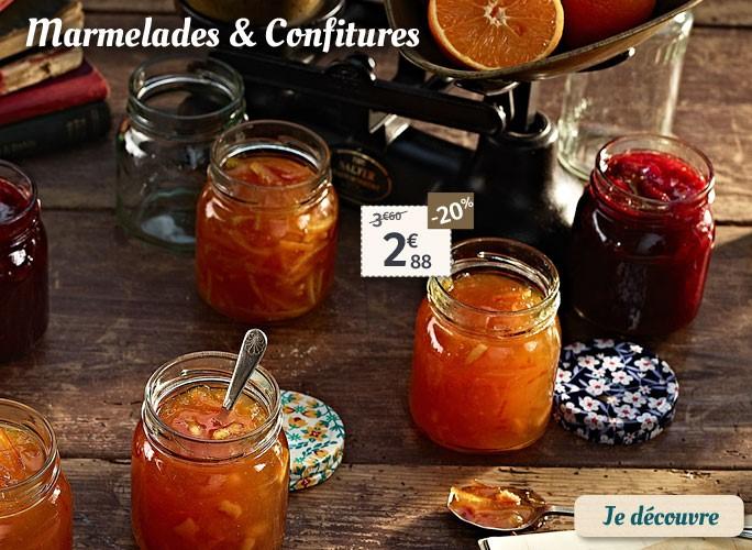 Confitures et marmelades