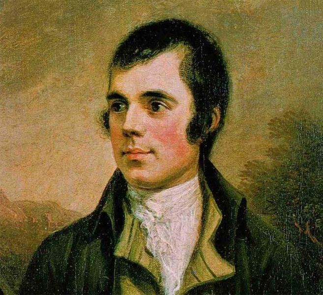 Portrait de Robert Burns