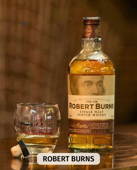 Whisky Arran Robert Burns