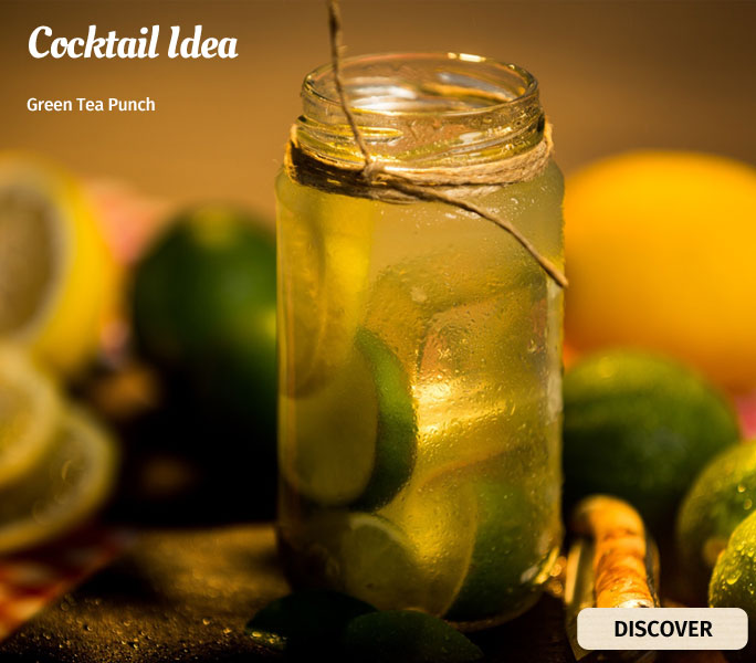 Green Tea Punch Cocktail