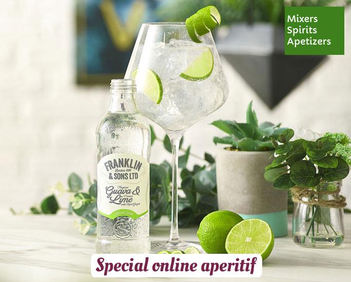 Online aperitif selection
