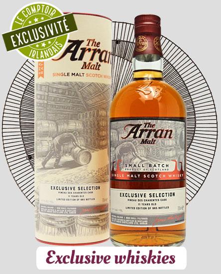 Exclusive whiskies