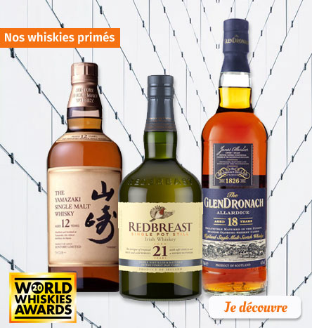 Nos Whiskies Primés