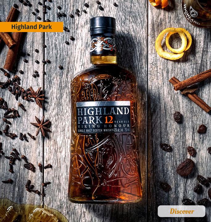 Highland Park Scotch Whiskies