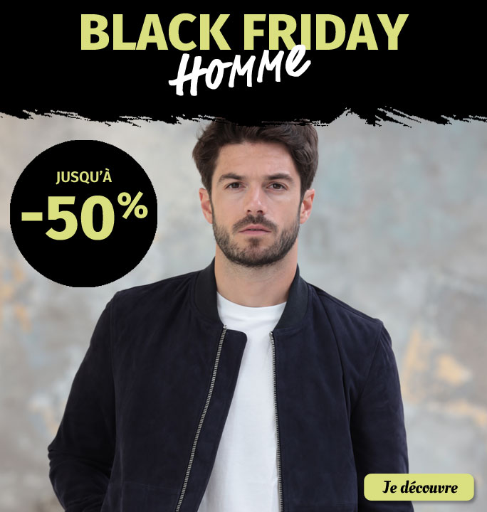 Black Friday Mode Homme