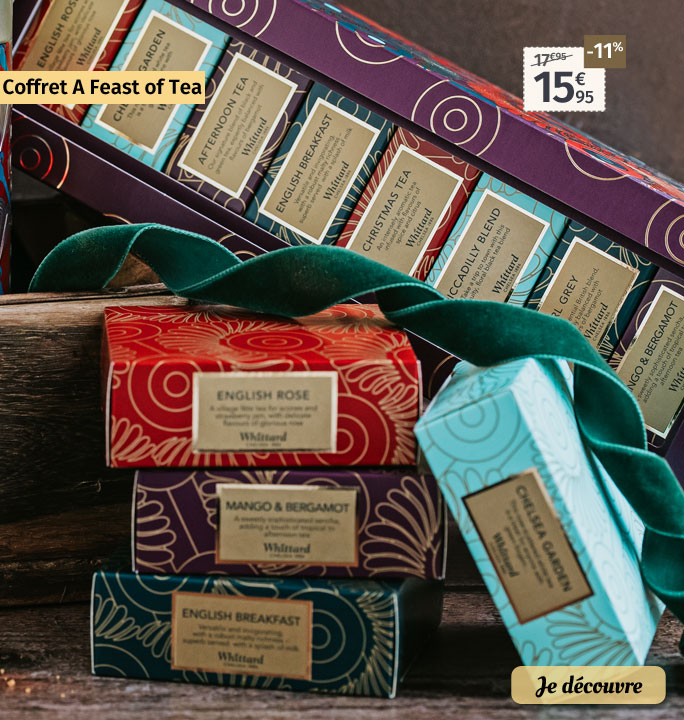 Coffret Whittard A Feast of Tea