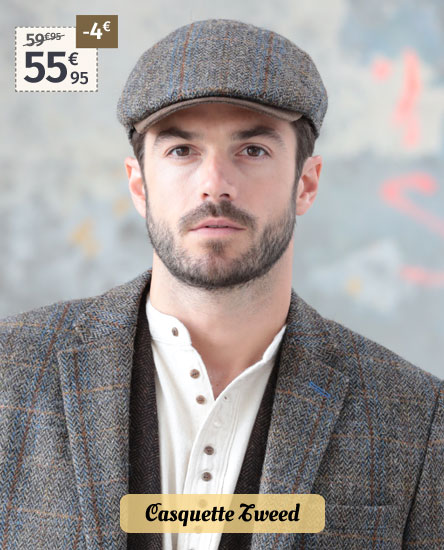 Casquette Harris Tweed Celtic Alliance