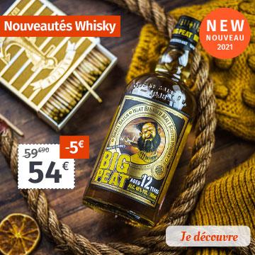Nouveautés Whisky