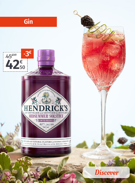 Gin special offers and novelties