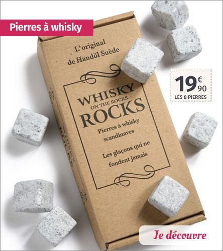 Pierres à whisky