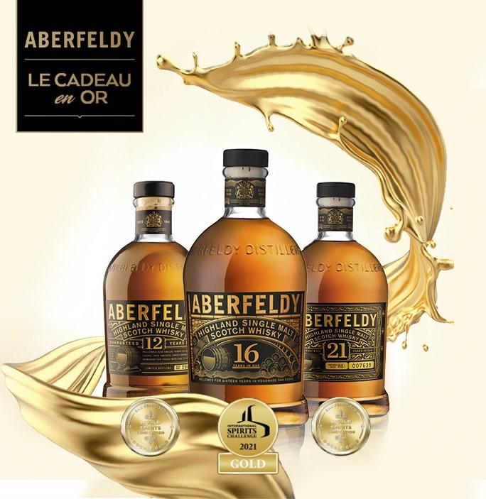 Aberfeldy, la gamme