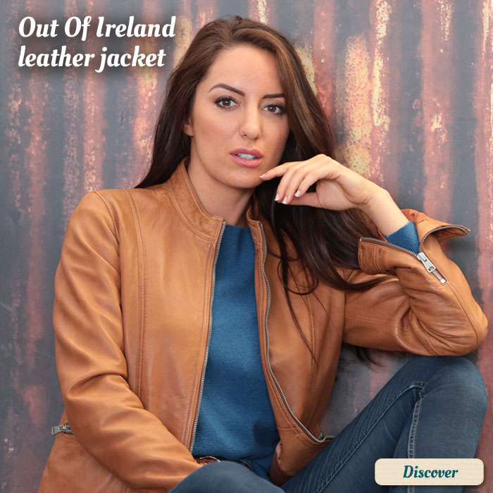 Veste cuir Out Of Ireland
