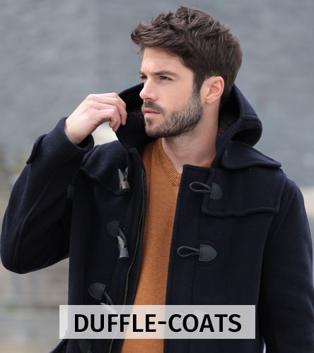 Men's duffle-coats