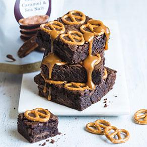 Brownies aux bretzels