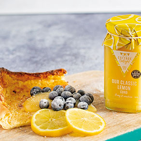 Crêpe hollandaise au citron