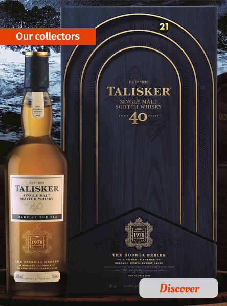 Our collector whiskies