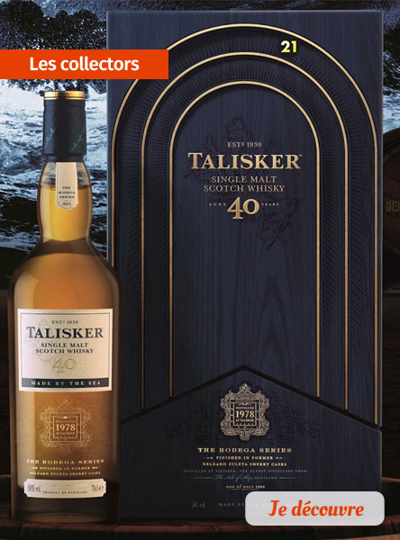 Nos whiskies collector
