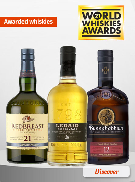 Our Rewarded Whiskies