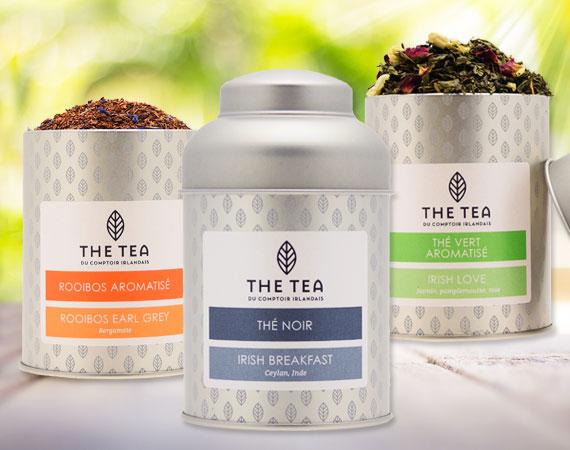 Boites The Tea