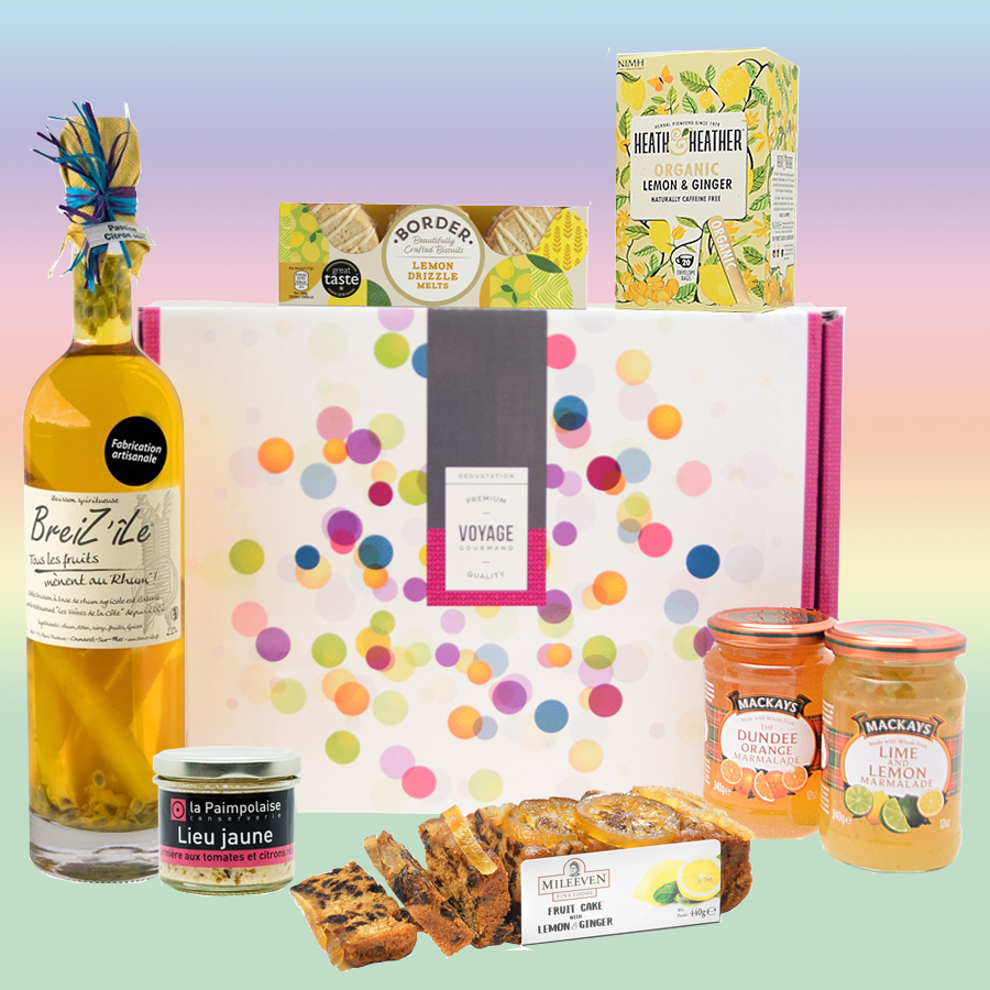 Coffret citron gourmand