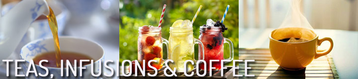 Teas, Infusions & Coffee