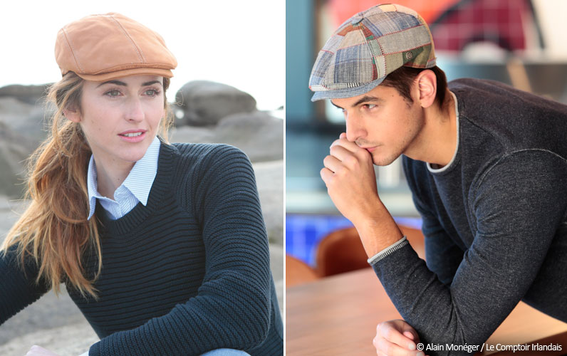 The flat cap, a fashion accessory adopted by women!
