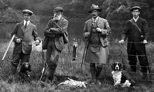 Le tweed, tissu de prédilection des gentlemen farmers.