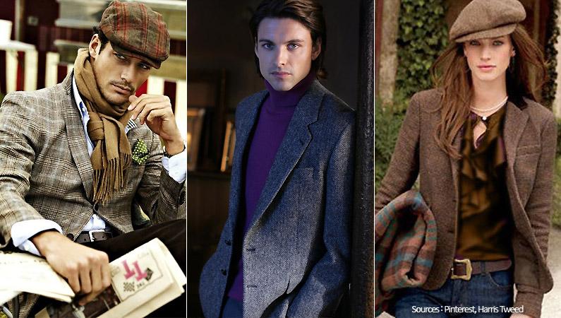 Le tweed, chic et tendance...