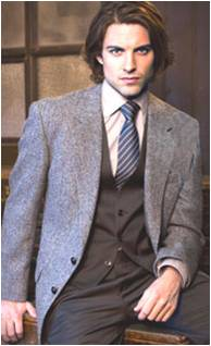 veste harris tweed