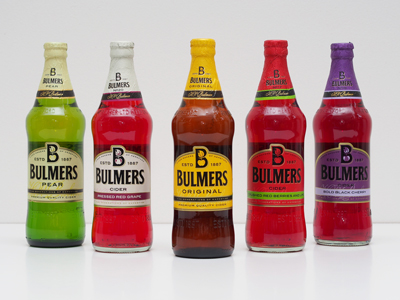 Gamme Cidres Bulmers