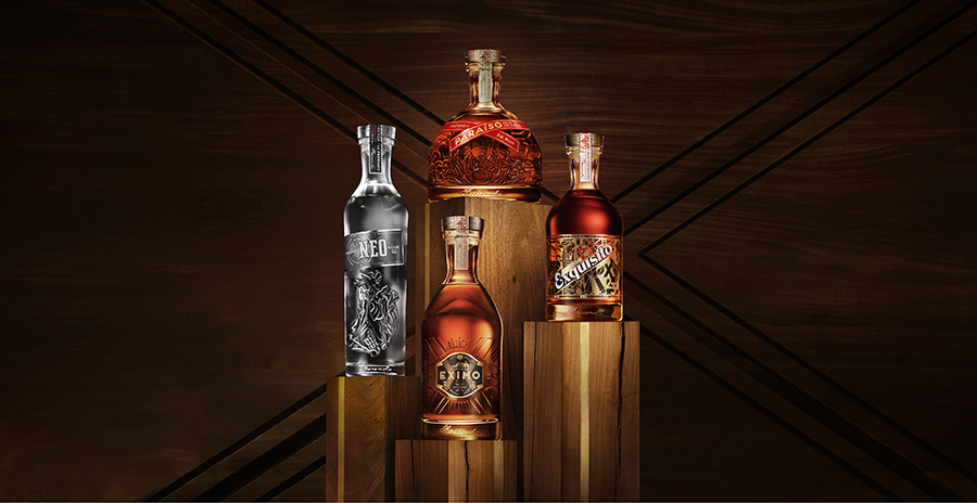 Collection de rhums Facundo - Bacardi